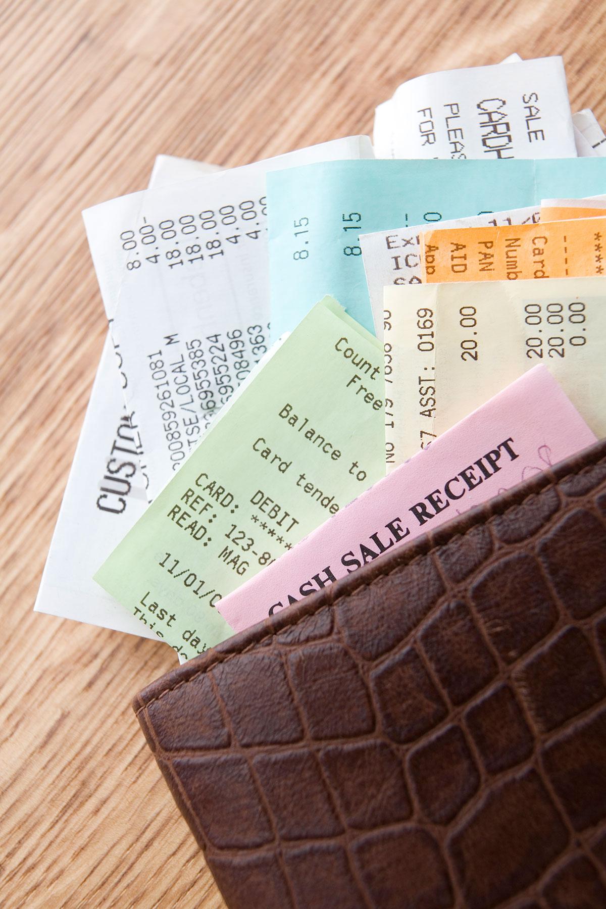 Disorganized Wallet.