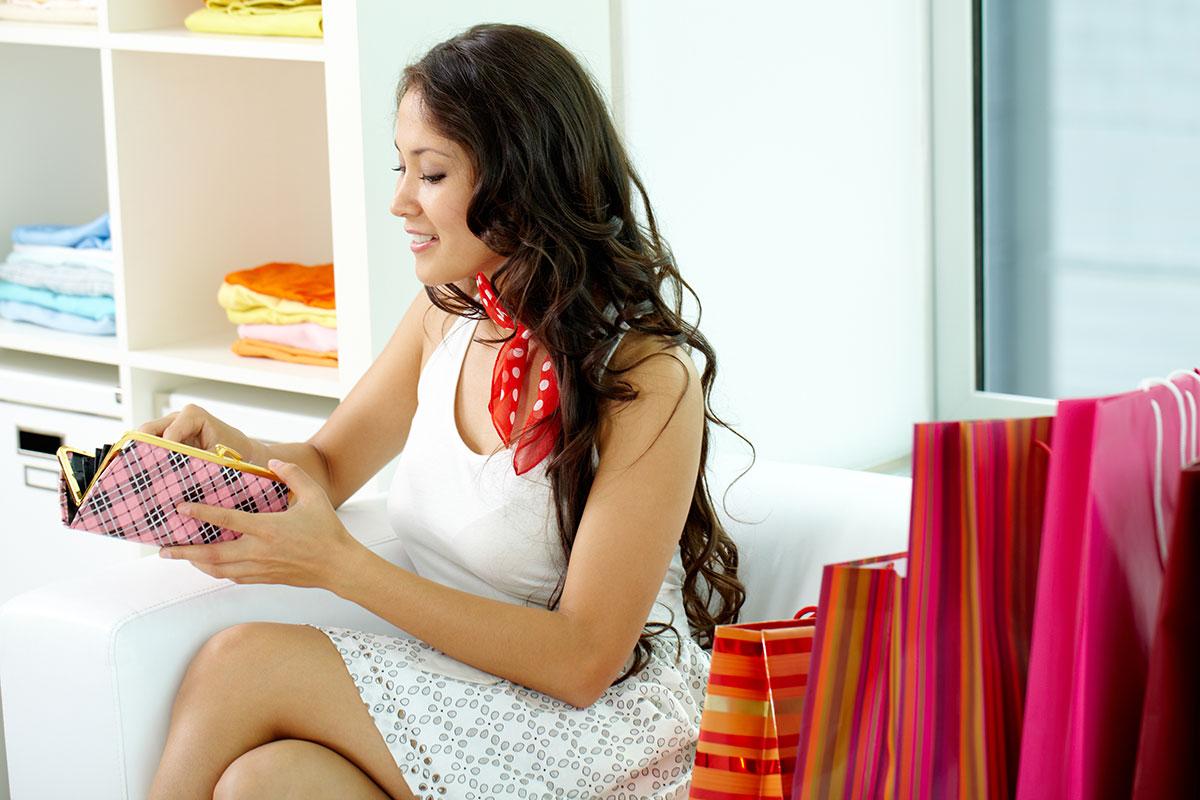 Female Shopper.