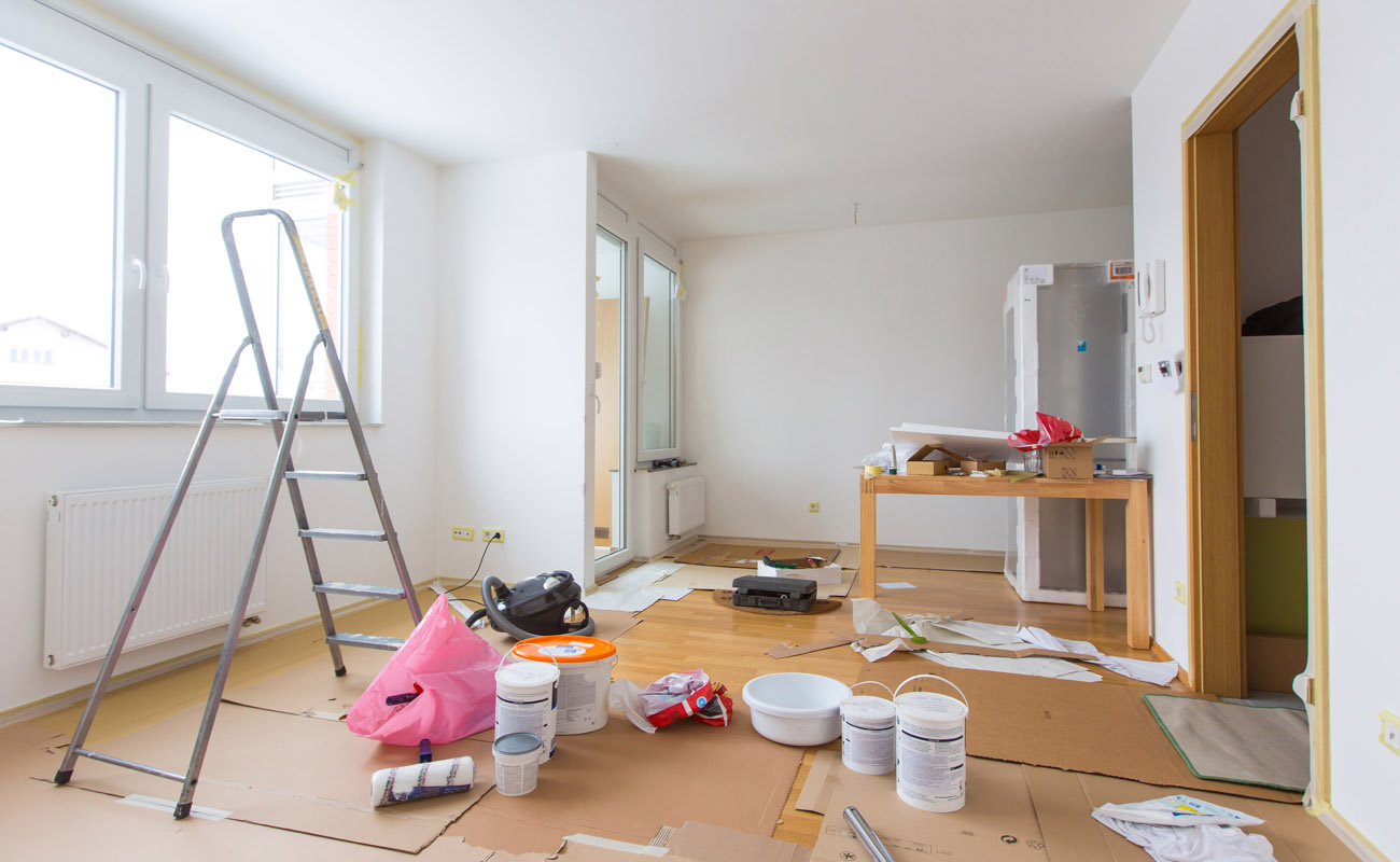 Home room renovation.