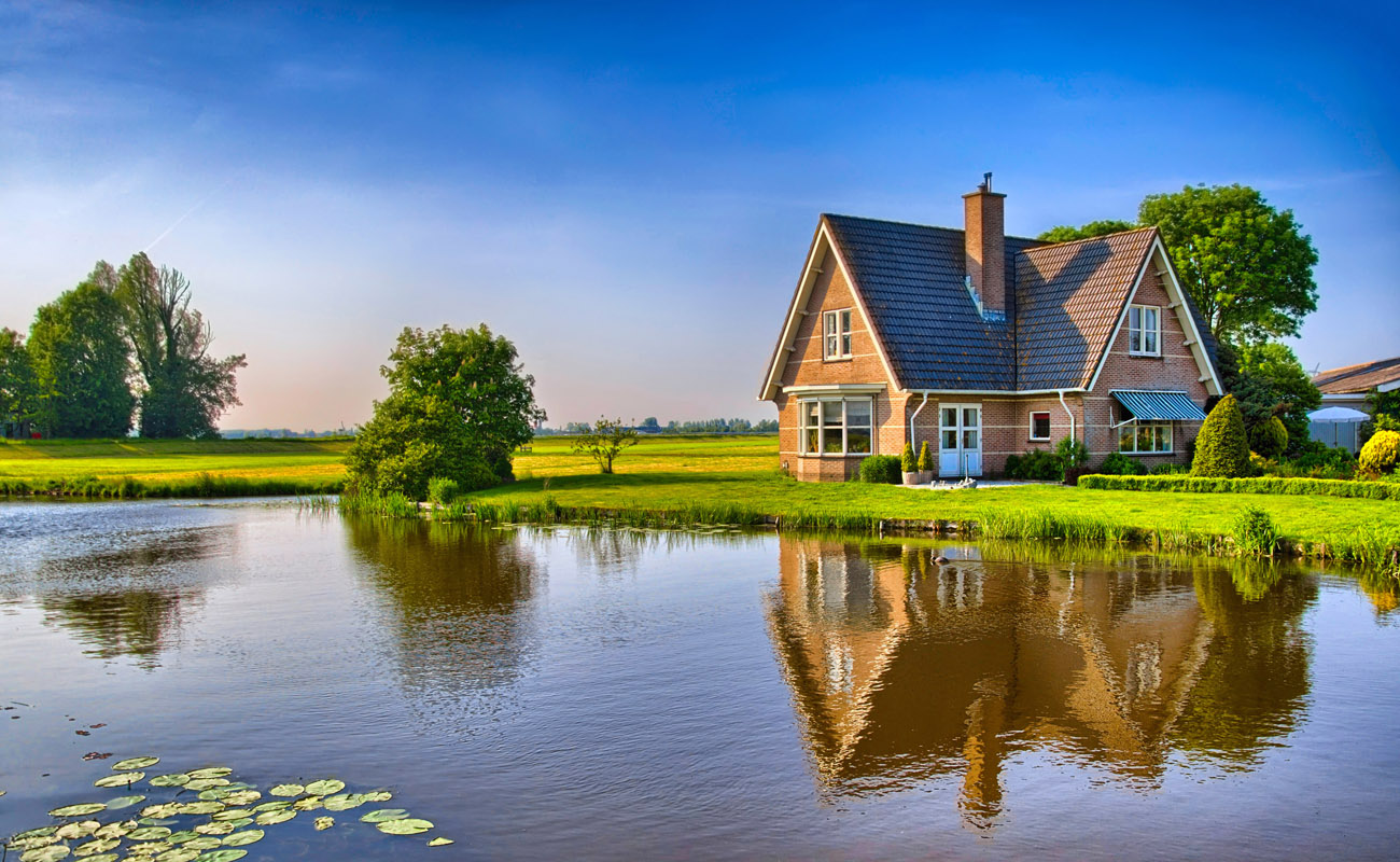 House in the countryside.
