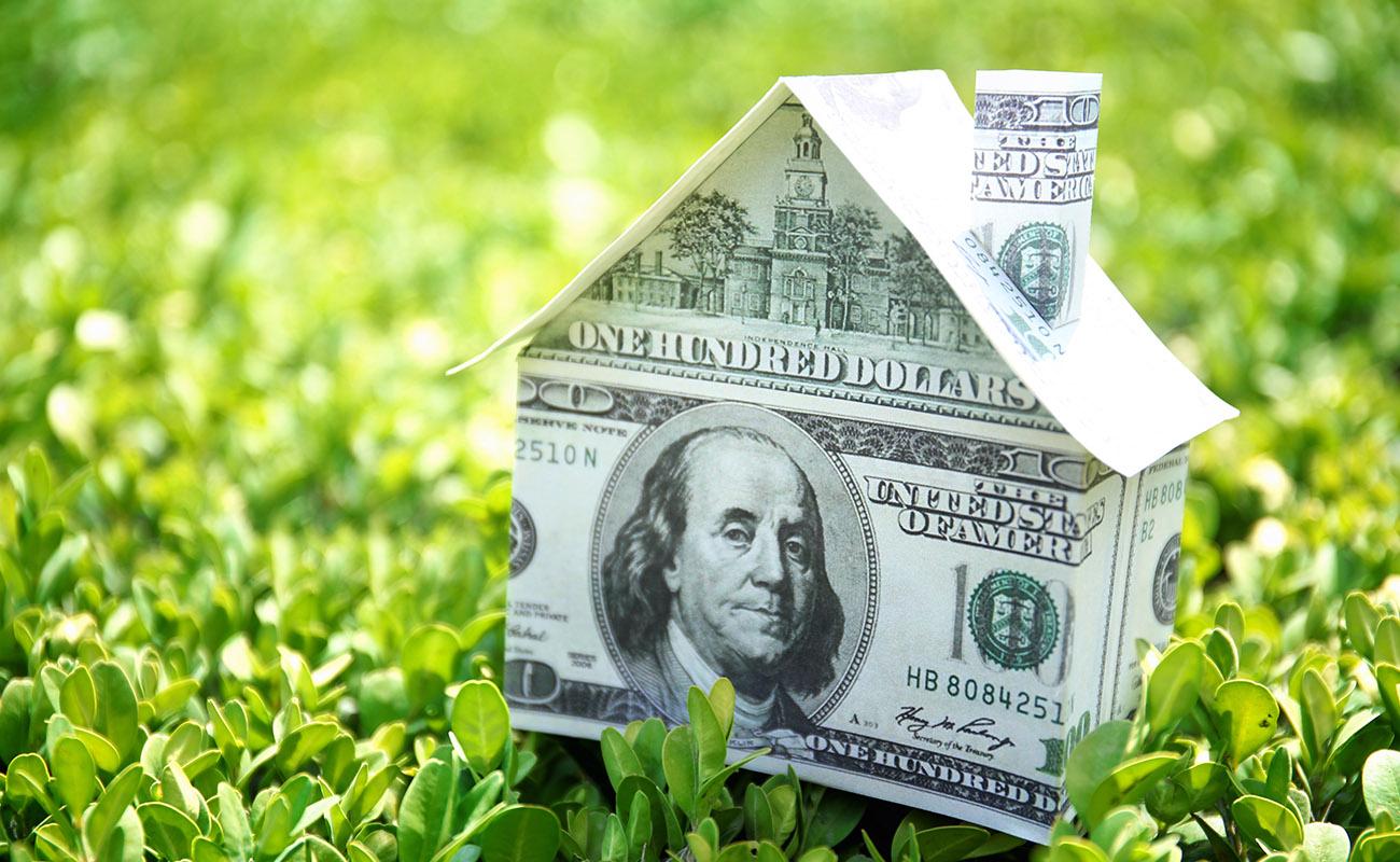 Paper money house.