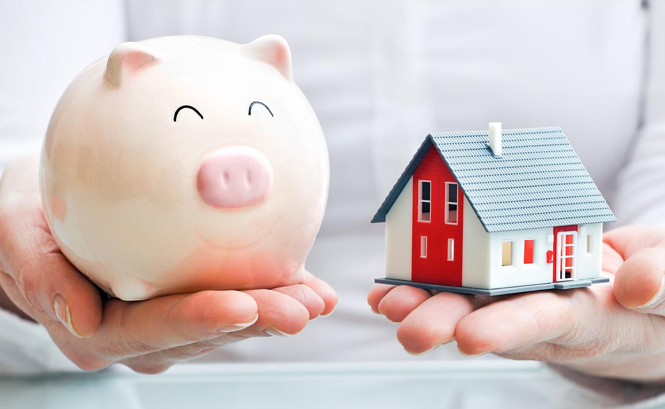 Savings for a house.